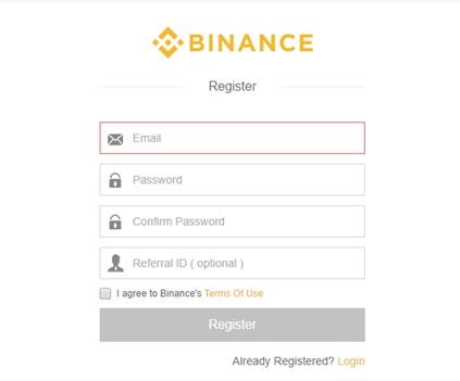 Binanceの登録方法・入金方法について ~海外取引所ってどうなの?初心者の始め方~